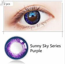Colored Contact Lenses Eye Makeup Contact Circle Eye Lenses Sunny Sky Series