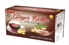 Ginger Coriander Coffee,Delicious Healthy Blend,40 Sachets,80g