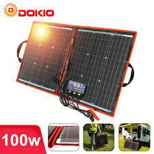 100W 12v Foldable Portable Solar Panel Bag Camping Solar Car Batttery Charger