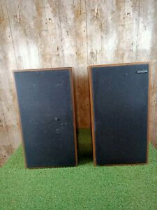 Vintage Retro Hitachi SS-8310G Wood Speakers For spares or repair
