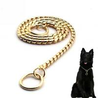 Dog Pet Choke Chain Snake Chain Dog Training Collar Pet Collar Heavy Duty Supply