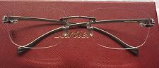 Sale!!!Authentic Cartier PANTHER rimless eyeglasses frames