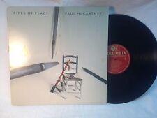 Vintage Paul Mc Cartney Pipes of Peace  Record Vinyl Album