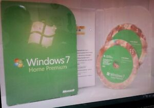 Windows 7 Home Premium 32 & 64 bit AGGIORNAMENTO DVD 100% autentica al