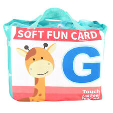 My First Soft Book 26 English Letters Cloth Card With Cloth Bag Early Education