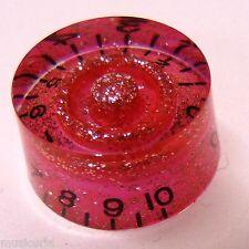 Pop-knob CHITARRA Manopola di Velocità in Baby Pink Sparkle, accoppiamenti Gibson / Epiphone ETC