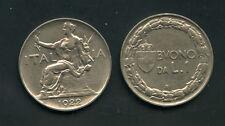 1922 - LOTTO/M16125 - REGNO - BUONO DA 1 LIRA