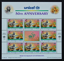 NATIONS-UNIS (New-York) timbre/stamp Yvert et Tellier 709 x8 n** (Y1)
