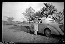 Afrique Noire Voiture ancienne Peugeot  - Ancien négatif photo an. 1920 - 1930