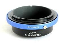 ULATA Lens Mount Adapter Canon FD to Micro 4/3 M43 M4/3 MFT EM5 GH3 EP5 FDM43BL