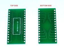 "SOP28 to DIP28 breakout board 2.54mm 0.1"" x 2pcs"