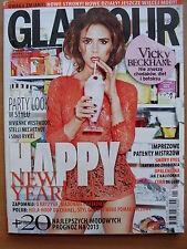 Glamour 1/2013 VICTORIA BECKHAM,Anja Rubik,Noah Mills