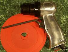"5"" High Speed AIR SANDER TOOL with 3 discs and Built in Regulator H.S. new sand"