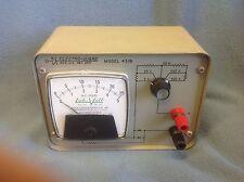 LABVOLT LAB-VOLT MODEL 431B  ELECTRO GUARD DC AMP METER  $59
