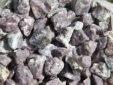 """1/2 lb LEPIDOLITE Rough Tumbling Rock """"Stone of Calm and Trust"""""""