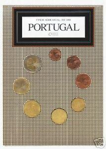 2008 Ufficiale 8 monete EURO PORTOGALLO fdc portugal