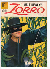 ZORRO Four Color # 976 1959 DELL PHOTO COVER Alex Toth GUY WILLIAMS TV SHOW FINE