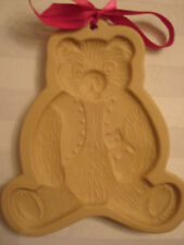 Brown Bag 1984 Cookie Art Teddy Bear Mold~Excellent