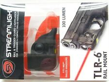 STREAMLIGHT Tactical TLR-6 LED Flashlight Weapon LASER Light for S&W M&P Compact