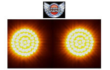 """2"""" BULLET Style Turn Signal Amber LED Inserts for Harley Davidson GEN-200-A-1156"""