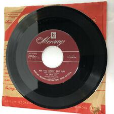 The Crew Cuts – Are You Havin' Any Fun / Slam! Bam! 45 Vinyl Mercury 70710X45