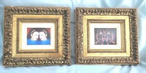 """Set of 2 """"Guild Master Arts""""  Frames with Pictures"""