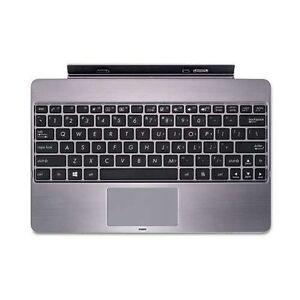 ASUS Vivo Tab RT TF600T Tablet Keyboard Touchpad Charging Dock USB Port New Grey