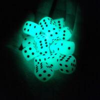4X14mm Filet Pips leuchtendeZPürfel 6 Seite für Brettspiel Night Bar ZP