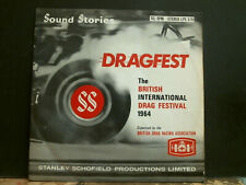 STANLEY SCHOFIELD  Dragfest    British International Festival 1964  LP  RARE!