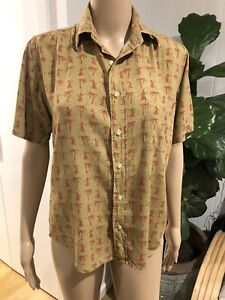 OPENING CEREMONY X REYN SPOONER Hawaiian Shirt Blouse Size XS