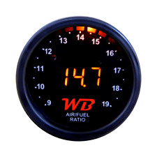APSX D2 Wideband O2 Air Fuel Ratio Controller Gauge (Black-Orange) No Sensor