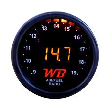 Wb D2 Wideband O2 Air Fuel Ratio Controller Gauge (Black-Orange) No Sensor
