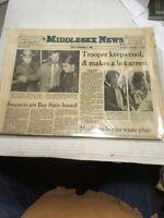 Middlesex News Dec.12,1980 Days Of John Lennons Killing Preowned