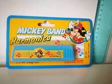 WALT DISNEY MICKEY BAND MOUSE BONTEMPI STRUMENTO HARMONICA VINTAGE TOY