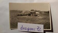 """Photo JG 77 avion Bf Me saison -109+ insigne """"Chien Noir"""" atterrissage forcé + Orig"""