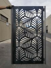 Metal Gate Contemporary Gate,3'x5',garden ,Pedestrian ,unpainted ,Urban Gate,