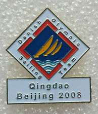 Denmark Beijing Qingdao 2008 Olympic Sailing pin - Extremely RARE