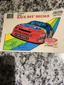 Vintage Jeff Gordon #24 Hendrick Racing Static Cling Decal NEW RARE 1995