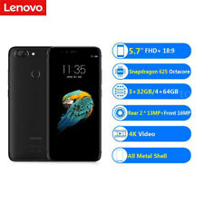 Unlocked Lenovo S5 FHD+ 4G Smart Phablet Android 8.0 2.0GHz Octa Core 32GB 16MP