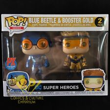 Funko BLUE BEETLE & BOOSTER GOLD 2-Pack PX Vinyl Figure PREVIEWS Exclusive DC!