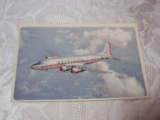 AMERICAN AIRLINES DC-6  FLAGSHIP AVIATION  POSTCARD    T*
