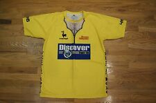 Discover Fest 2013 Yellow Jersey shirt Big Sky brewing XL Lance Armstrong