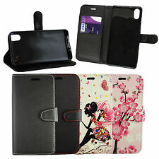Pu Leather Wallet Case Cover for BQ Aquaris M 4.5 / X5 / X5 Plus