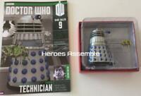 DOCTOR WHO FIGURINE RARE DALEK #9 EMBRYO TECHNICIAN SUBSCRIBER SCOOP EAGLEMOSS