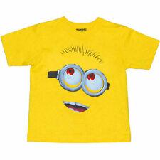 Despicable Me Minion Face Toddler T-Shirt