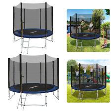 Trampolin Set 244/305/366/cm Gartentrampolin Komplettset mit Netz für Kinder TÜV