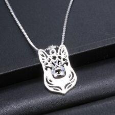 German Shepherd Dog Pendant Necklace  ANIMAL RESCUE DONATION