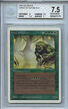 MTG Unlimited Force of Nature BGS 7.5 NM+ card Magic the Gathering WOTC 5179