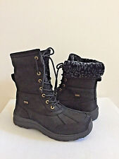 UGG ADIRONDACK III SHORT LEOPARD BLACK Boot US 9 / EU 40 / UK 7.5- NIB