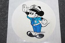 Disney Security Officer Badge Sticker Security Mickey Mouse